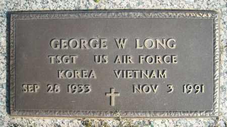 LONG (VETERAN 2 WARS), GEORGE W - Faulkner County, Arkansas   GEORGE W LONG (VETERAN 2 WARS) - Arkansas Gravestone Photos