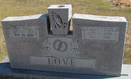 LOVE, OMA - Faulkner County, Arkansas | OMA LOVE - Arkansas Gravestone Photos