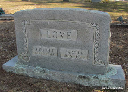 LOVE, JOSEPH C. - Faulkner County, Arkansas | JOSEPH C. LOVE - Arkansas Gravestone Photos