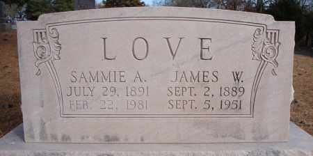LOVE, SAMMIE A. - Faulkner County, Arkansas | SAMMIE A. LOVE - Arkansas Gravestone Photos