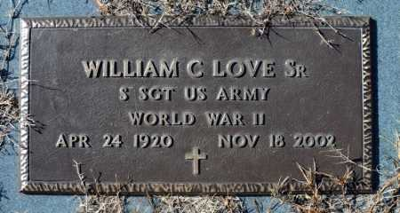 LOVE, SR (VETERAN WWII), WILLIAM C - Faulkner County, Arkansas | WILLIAM C LOVE, SR (VETERAN WWII) - Arkansas Gravestone Photos