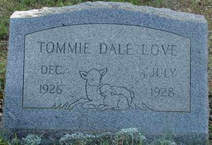 LOVE, TOMMIE DALE - Faulkner County, Arkansas | TOMMIE DALE LOVE - Arkansas Gravestone Photos