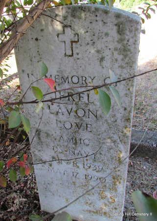 LOVE (VETERAN), JEREL LAVON - Faulkner County, Arkansas | JEREL LAVON LOVE (VETERAN) - Arkansas Gravestone Photos