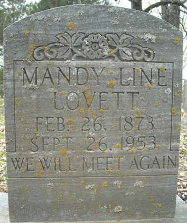 "JAMES LOVETT, AMANDA LINE ""MANDY"" - Faulkner County, Arkansas 