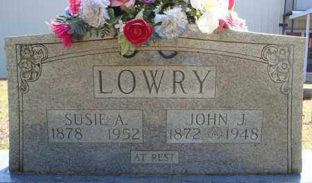 LOWRY, JOHN J. - Faulkner County, Arkansas | JOHN J. LOWRY - Arkansas Gravestone Photos