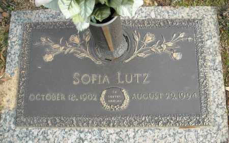 LUTZ, SOFIA - Faulkner County, Arkansas | SOFIA LUTZ - Arkansas Gravestone Photos