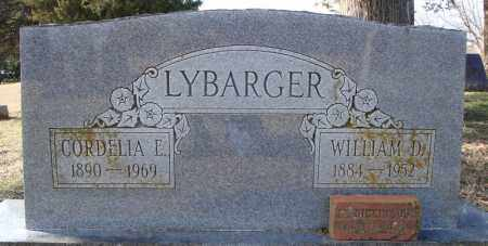 LYBARGER, WILLIAM D. - Faulkner County, Arkansas | WILLIAM D. LYBARGER - Arkansas Gravestone Photos