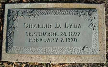LYDA, CHARLIE D. - Faulkner County, Arkansas | CHARLIE D. LYDA - Arkansas Gravestone Photos