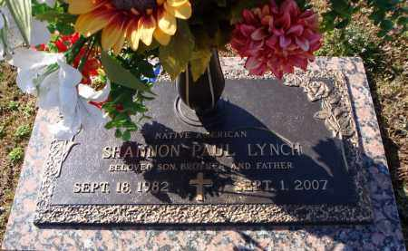 LYNCH (NATIVE AMERICAN), SHANNON PAUL - Faulkner County, Arkansas | SHANNON PAUL LYNCH (NATIVE AMERICAN) - Arkansas Gravestone Photos