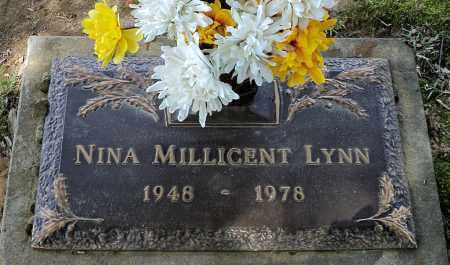 LYNN, NINA MILLICENT - Faulkner County, Arkansas | NINA MILLICENT LYNN - Arkansas Gravestone Photos