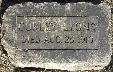 LYONS, CURLEY - Faulkner County, Arkansas | CURLEY LYONS - Arkansas Gravestone Photos