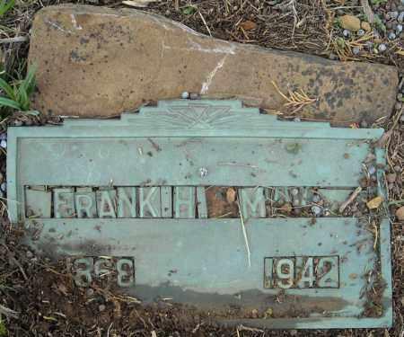 MABRY, FRANK H. - Faulkner County, Arkansas | FRANK H. MABRY - Arkansas Gravestone Photos