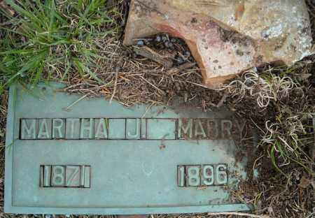 MABRY, MARTHA J. - Faulkner County, Arkansas | MARTHA J. MABRY - Arkansas Gravestone Photos