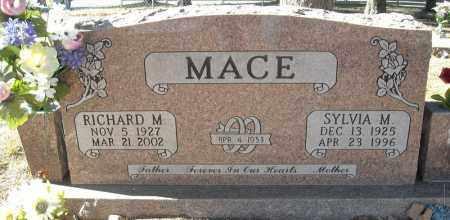 MACE, SYLVIA M. - Faulkner County, Arkansas | SYLVIA M. MACE - Arkansas Gravestone Photos