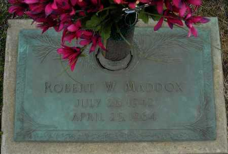 MADDOX, ROBERT W. - Faulkner County, Arkansas | ROBERT W. MADDOX - Arkansas Gravestone Photos