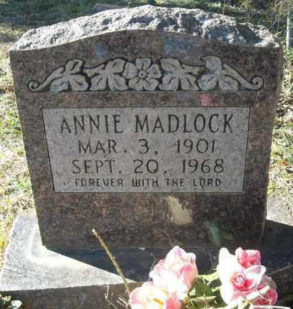 MADLOCK, ANNIE - Faulkner County, Arkansas | ANNIE MADLOCK - Arkansas Gravestone Photos