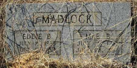 MADLOCK, EDDIE B. - Faulkner County, Arkansas | EDDIE B. MADLOCK - Arkansas Gravestone Photos