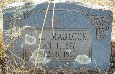 MADLOCK, J.L. - Faulkner County, Arkansas | J.L. MADLOCK - Arkansas Gravestone Photos