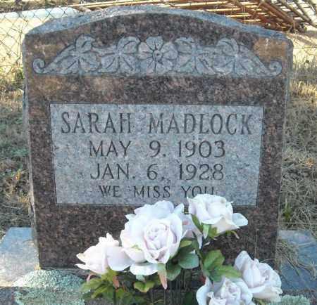 MADLOCK, SARAH - Faulkner County, Arkansas | SARAH MADLOCK - Arkansas Gravestone Photos