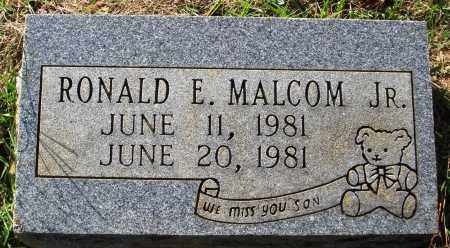 MALCOM JR., RONALD E. - Faulkner County, Arkansas | RONALD E. MALCOM JR. - Arkansas Gravestone Photos