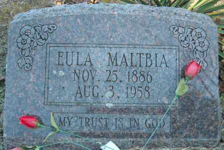 MALTBIA, EULA - Faulkner County, Arkansas | EULA MALTBIA - Arkansas Gravestone Photos