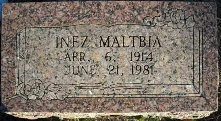 MALTBIA, INEZ - Faulkner County, Arkansas | INEZ MALTBIA - Arkansas Gravestone Photos