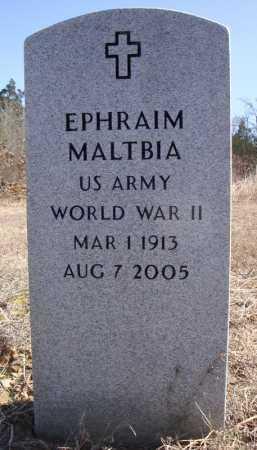 MALTBIA (VETERAN WWII), EPHRAIM - Faulkner County, Arkansas | EPHRAIM MALTBIA (VETERAN WWII) - Arkansas Gravestone Photos