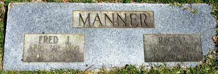 MANNER, FRED J. - Faulkner County, Arkansas | FRED J. MANNER - Arkansas Gravestone Photos