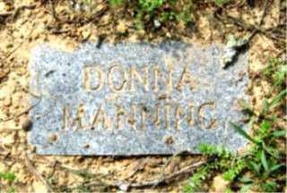 MANNING, DONNA - Faulkner County, Arkansas | DONNA MANNING - Arkansas Gravestone Photos