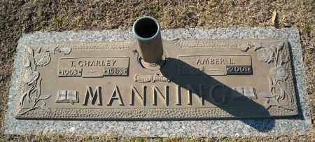 MANNING, T. CHARLEY - Faulkner County, Arkansas | T. CHARLEY MANNING - Arkansas Gravestone Photos