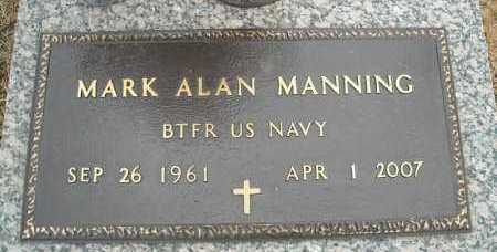 MANNING (VETERAN), MARK ALAN - Faulkner County, Arkansas | MARK ALAN MANNING (VETERAN) - Arkansas Gravestone Photos