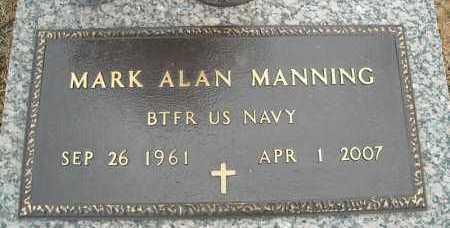 MANNING (VETERAN), MARK ALAN - Faulkner County, Arkansas   MARK ALAN MANNING (VETERAN) - Arkansas Gravestone Photos