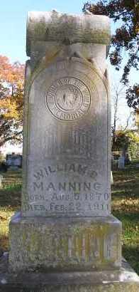 MANNING, WILLIAM B. - Faulkner County, Arkansas | WILLIAM B. MANNING - Arkansas Gravestone Photos