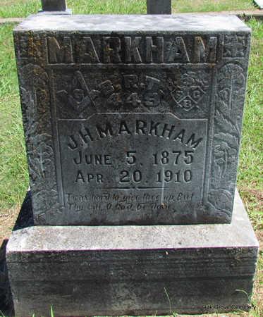MARKHAM, JOHN H - Faulkner County, Arkansas | JOHN H MARKHAM - Arkansas Gravestone Photos