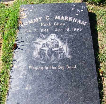 "MARKHAM (FAMOUS), TOMMY C ""PORK CHOP"" - Faulkner County, Arkansas | TOMMY C ""PORK CHOP"" MARKHAM (FAMOUS) - Arkansas Gravestone Photos"