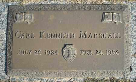 MARSHALL (VETERAN), CARL KENNETH - Faulkner County, Arkansas | CARL KENNETH MARSHALL (VETERAN) - Arkansas Gravestone Photos