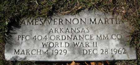 MARTIN  (VETERAN  WWII), JAMES VERNON - Faulkner County, Arkansas | JAMES VERNON MARTIN  (VETERAN  WWII) - Arkansas Gravestone Photos