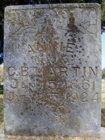 MARTIN, ANNIE - Faulkner County, Arkansas | ANNIE MARTIN - Arkansas Gravestone Photos