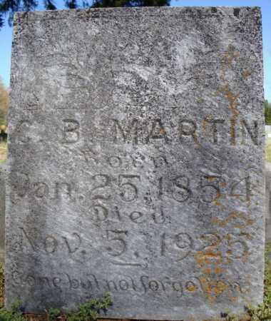 MARTIN, C.B. - Faulkner County, Arkansas | C.B. MARTIN - Arkansas Gravestone Photos