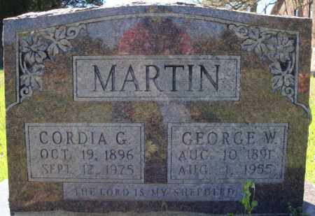 MARTIN, GEORGE W. - Faulkner County, Arkansas | GEORGE W. MARTIN - Arkansas Gravestone Photos