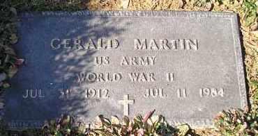 MARTIN (VETERAN WWII), GERALD - Faulkner County, Arkansas | GERALD MARTIN (VETERAN WWII) - Arkansas Gravestone Photos