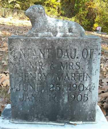 MARTIN, INFANT DAUGHTER - Faulkner County, Arkansas | INFANT DAUGHTER MARTIN - Arkansas Gravestone Photos