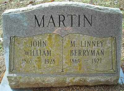 MARTIN, JOHN WILLIAM - Faulkner County, Arkansas | JOHN WILLIAM MARTIN - Arkansas Gravestone Photos