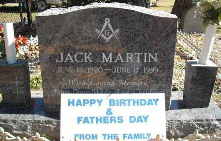 MARTIN, JACK - Faulkner County, Arkansas | JACK MARTIN - Arkansas Gravestone Photos