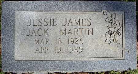 "MARTIN, JESSIE JAMES ""JACK"" - Faulkner County, Arkansas | JESSIE JAMES ""JACK"" MARTIN - Arkansas Gravestone Photos"