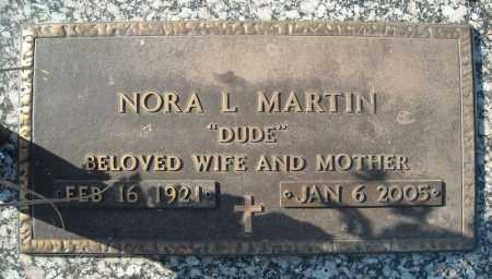 MARTIN, NORA L. - Faulkner County, Arkansas | NORA L. MARTIN - Arkansas Gravestone Photos