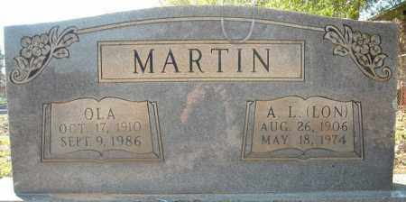 MARTIN, OLA - Faulkner County, Arkansas | OLA MARTIN - Arkansas Gravestone Photos