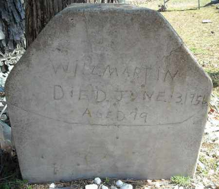 MARTIN, WILL (OLD MARKER) - Faulkner County, Arkansas | WILL (OLD MARKER) MARTIN - Arkansas Gravestone Photos