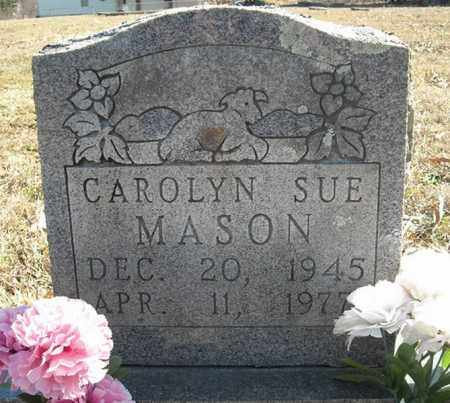MASON, CAROLYN SUE - Faulkner County, Arkansas | CAROLYN SUE MASON - Arkansas Gravestone Photos
