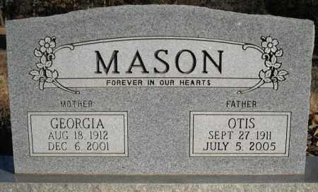 MASON, GEORGIA - Faulkner County, Arkansas | GEORGIA MASON - Arkansas Gravestone Photos